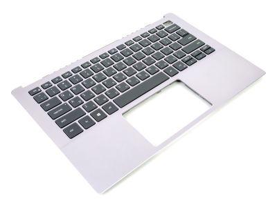 Dell Inspiron 13-5390 Ice Lilac Palmrest & HEBREW Backlit Keyboard - 07J9FT + 0DTPPR