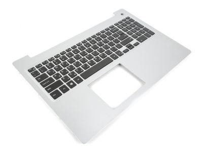 M1FJK / MR2KH TX7F9 Dell Inspiron 15-5570/5575 Silver Palmrest & HEBREW Keyboard 0M1FJK / 0MR2KH 0TX7F9