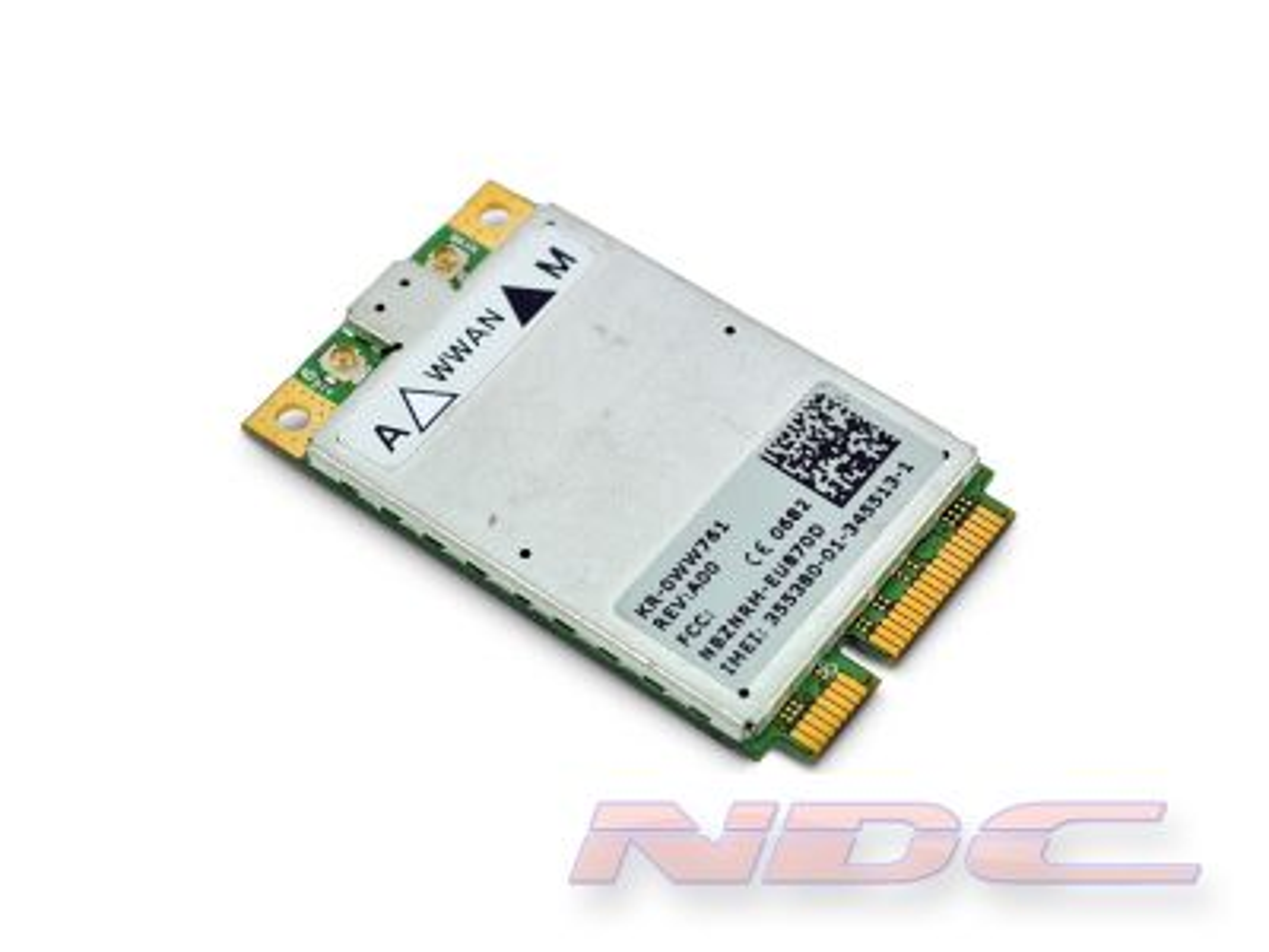 Dell Wireless 5520 3G/HSPDA/WWAN Mobile Broadband PCI-E Mini-Card - WW761