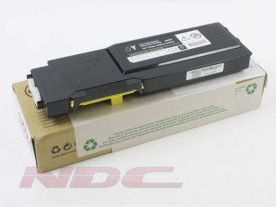 Dell Laser toner Cartridge Yellow For C3760n C3760dn MD8G4 9000 Page Capacity